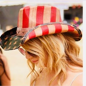 NWT Peter Grimm Old Glory Hat